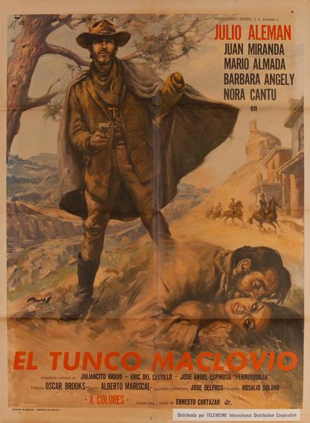 El Tunco Maclovio, Mexican Movie Poster