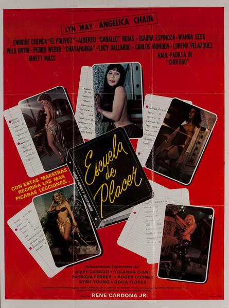 Escuela de Placer, Mexican Movie Poster, Pleasure School