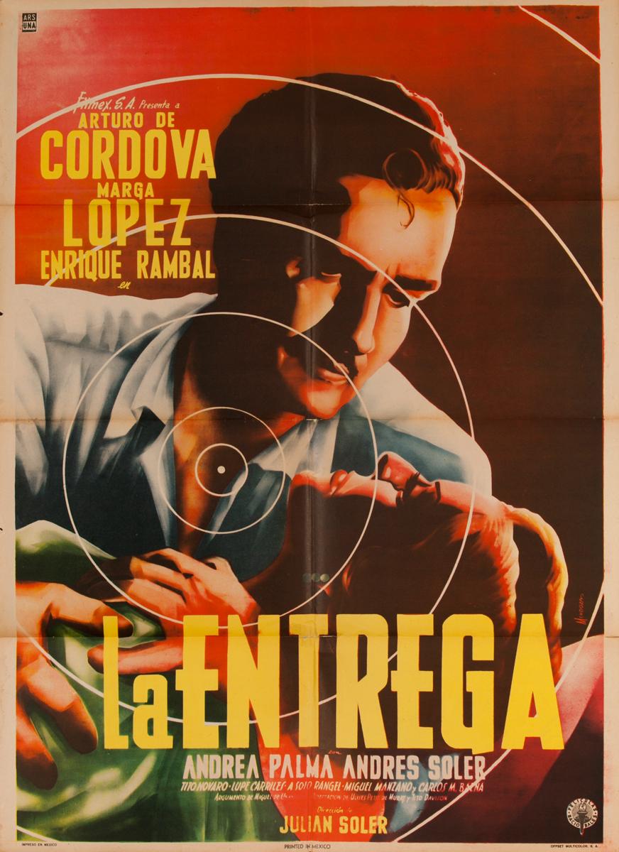 La Entrega, Mexican Movie Poster, The Drop