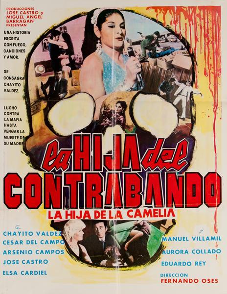 La Hija del Contrabando, Mexican Movie Poster