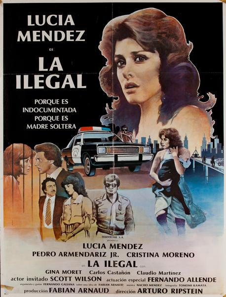 La Ilegal, Mexican Movie Poster