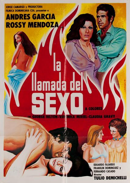 La Llamada del Sexo, Mexican Movie Poster