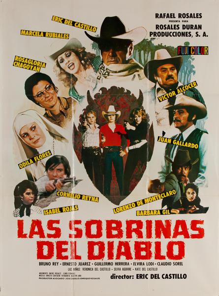 Las Sobrinas Del Diablo, Mexican Movie Poster