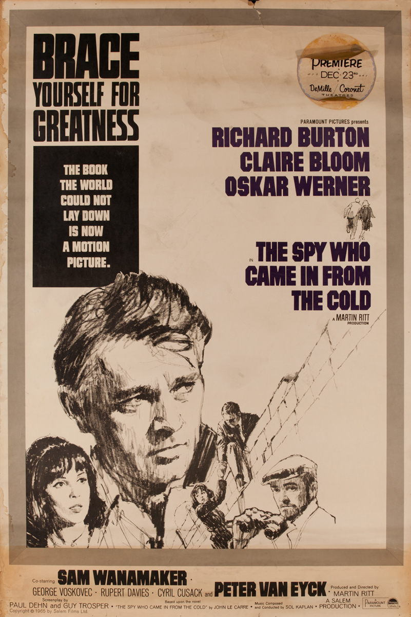 The Spy Who Came in Fron the Cold, Movie Poster