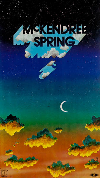 McKendree Spring 3, Progressive Rock Music Poster, Decca Records