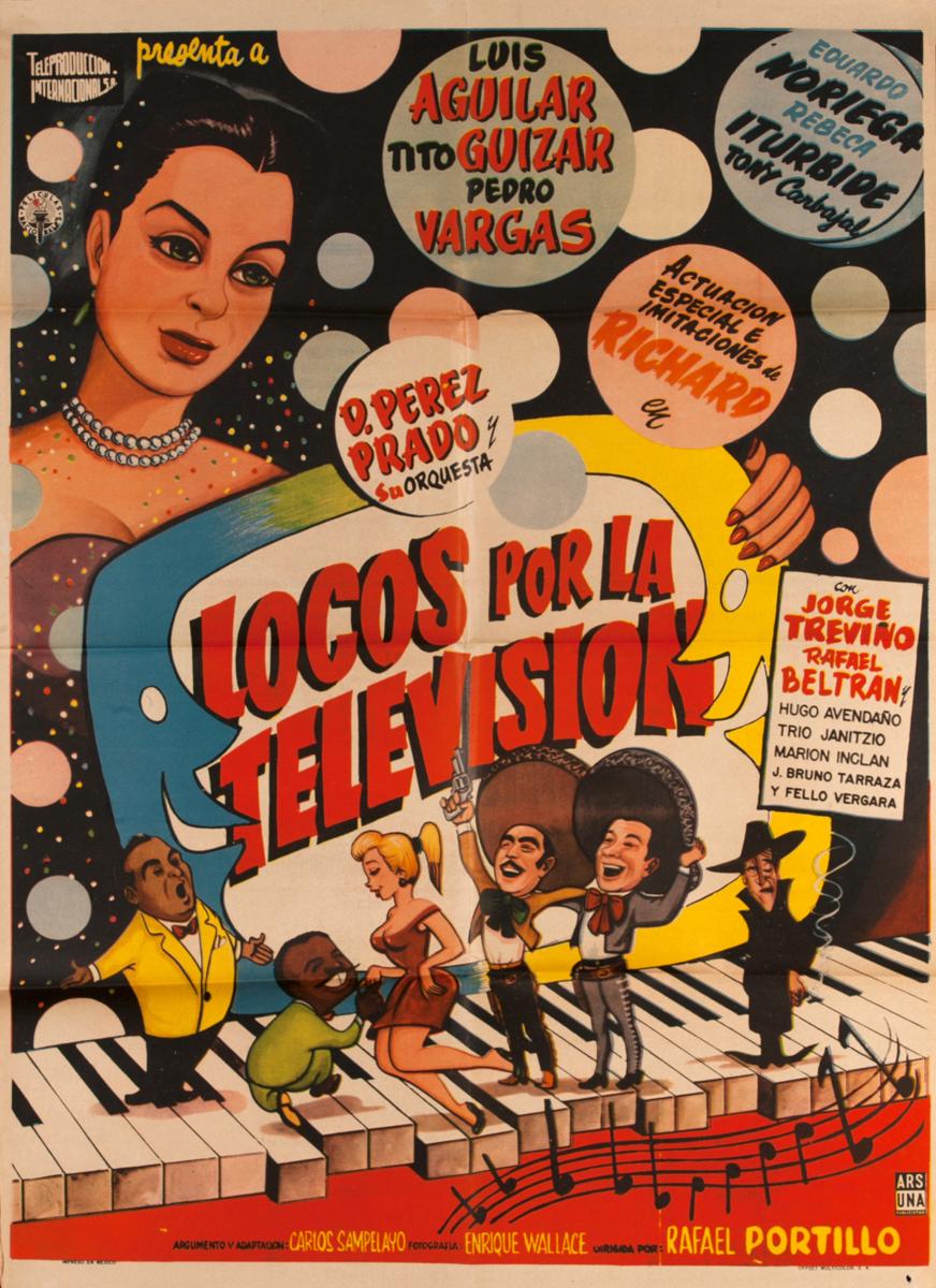 Locos Por la Television, Mexican Movie Poster