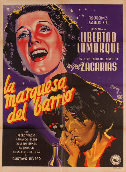 La Marquesea del Barrio, Mexican Movie Poster