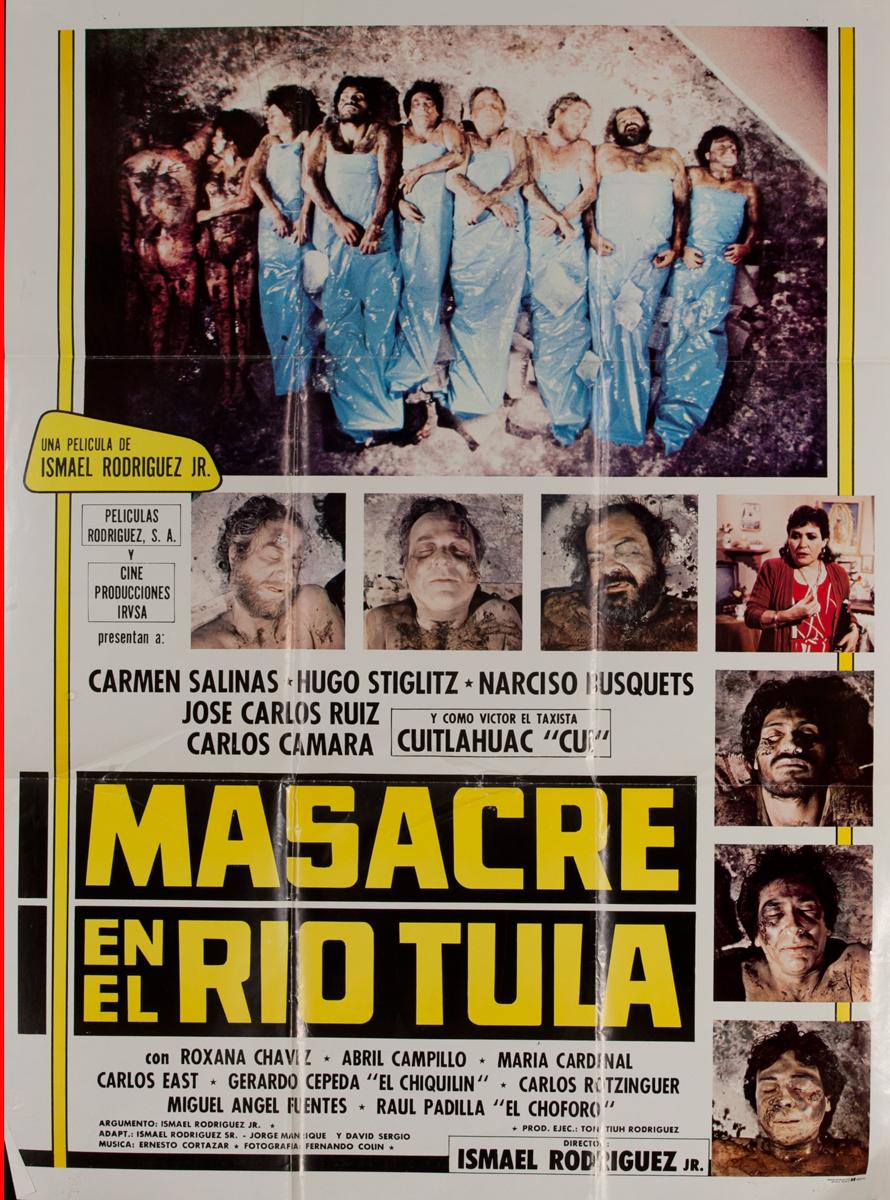 Masacre en el Rio Tula, Mexican Movie Poster