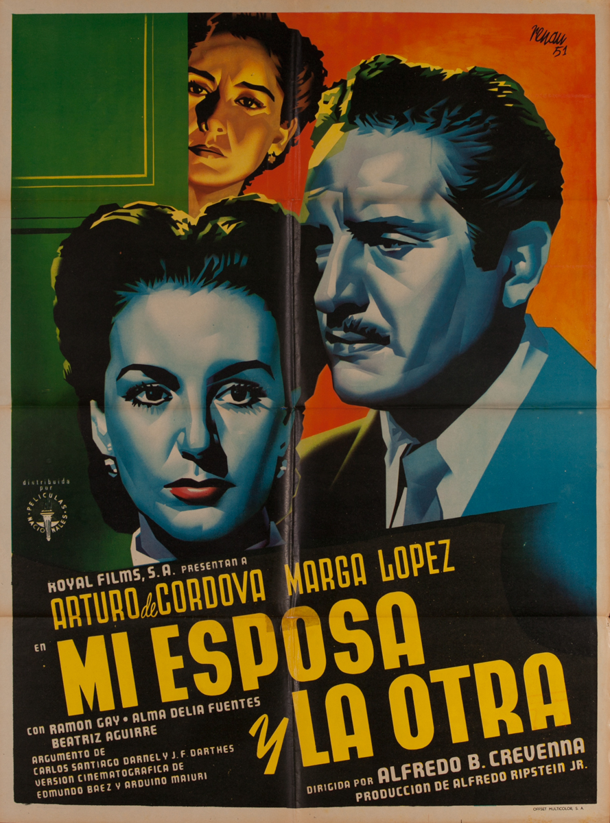 Mi Esposa y La Otra, Mexican Movie Poster
