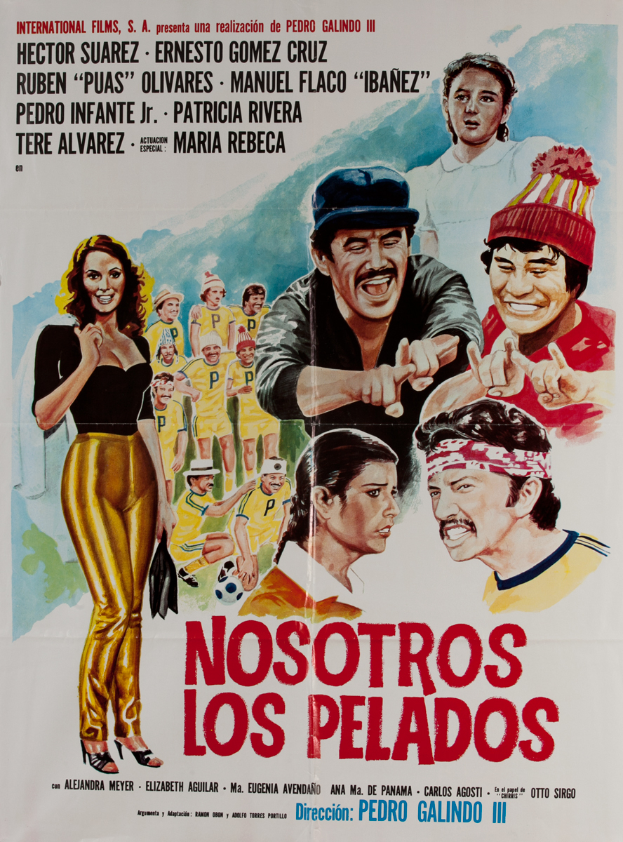 Nosotros Los Pelados, Mexican Movie Poster