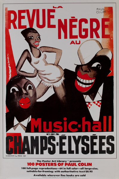 100 Posters of Paul Colin, Music Hall Des Champs-Elysees