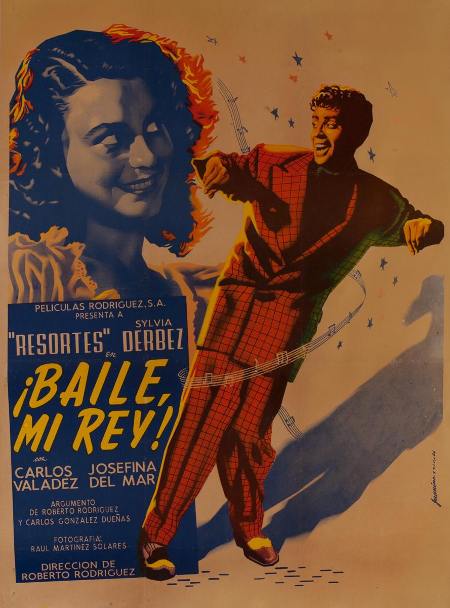¡Baile mi rey! Mexican Movie Poster