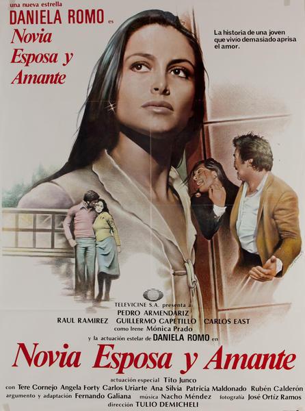 Novia Esposa Y Amante, Mexican Movie Poster