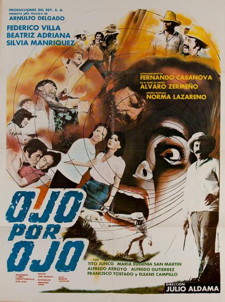Ojo pro Ojo, Mexican Movie Poster
