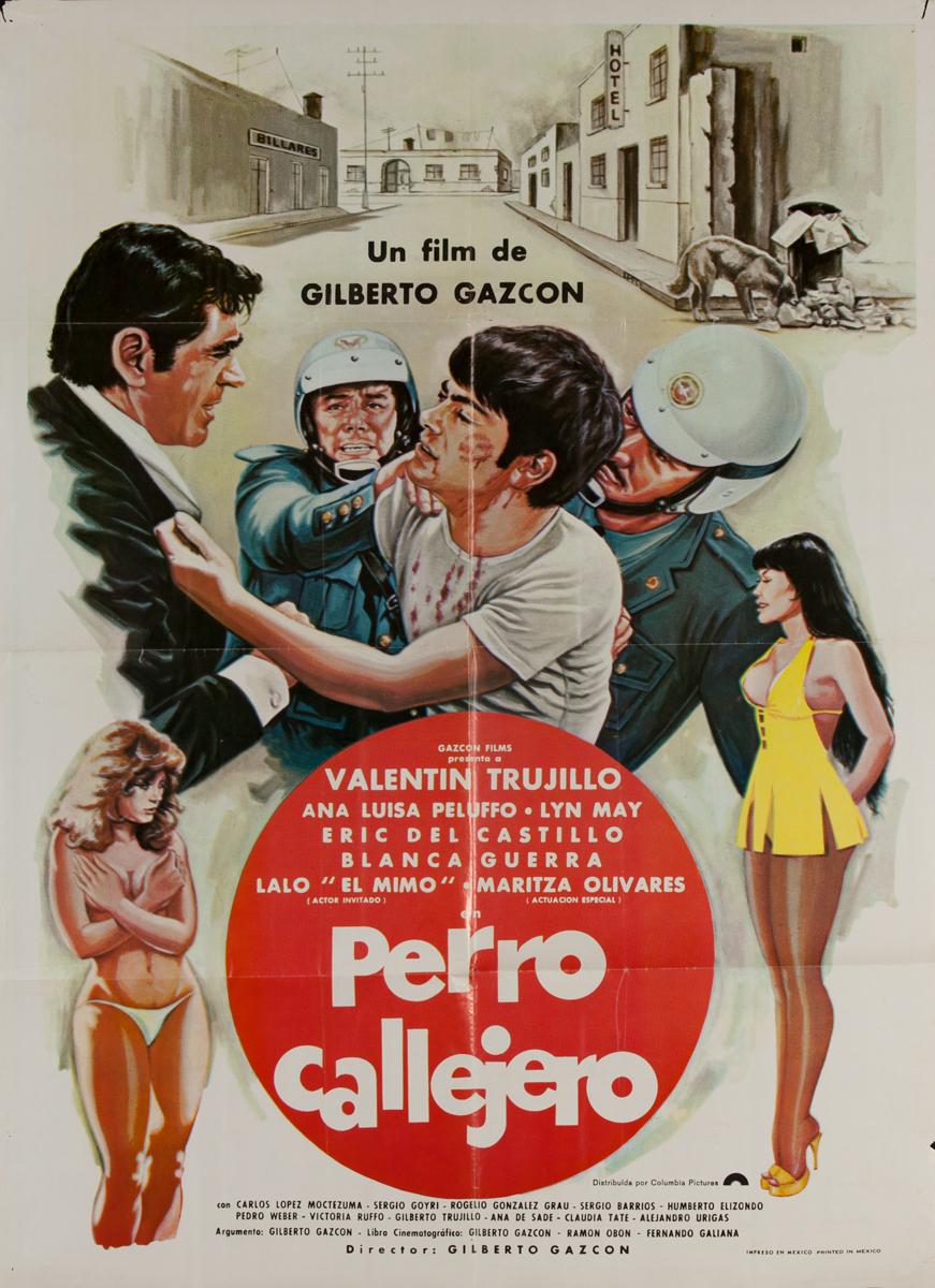 Perro Callejero, Mexican Movie Poster