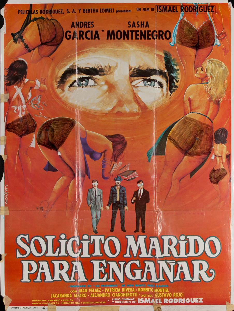 Solicito Marido Para Enganar, Mexican Movie Poster