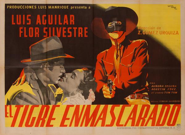El Tigre Enmascarado, Mexican Movie Poster