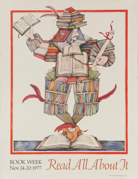 Read All About It, 1977 Children's Book Week Poster