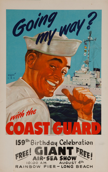 Going My Way? With the Coast Guard