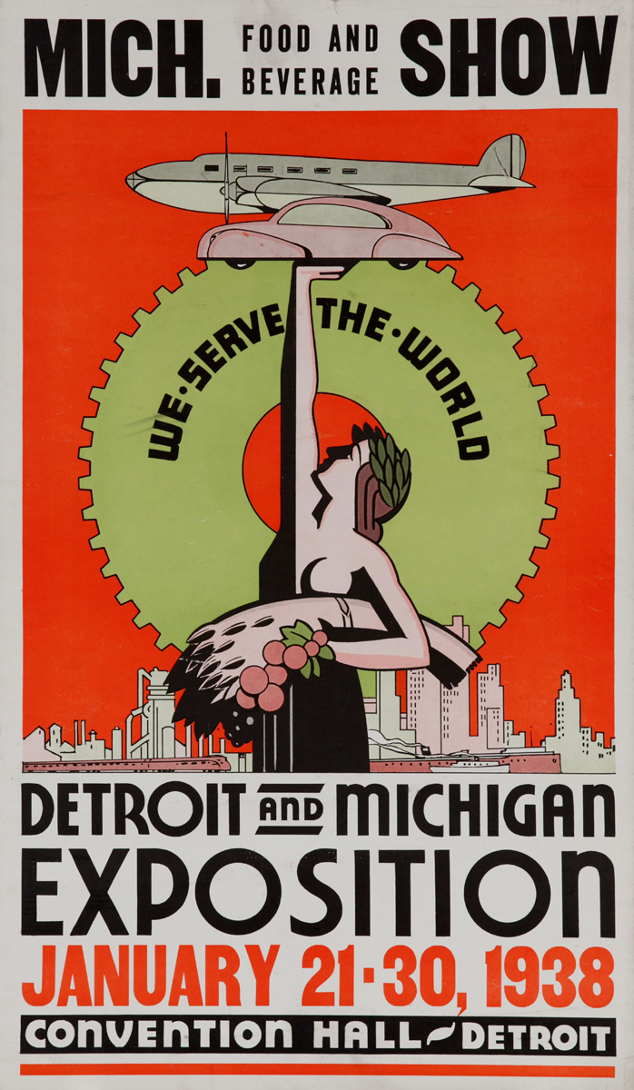Michigan Food and Beverage Show Exposition Poster