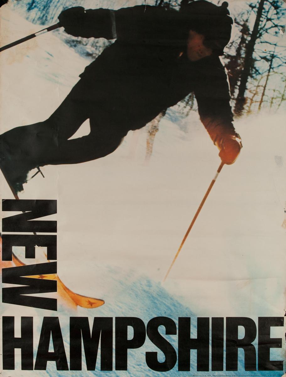 New Hampshire Ski Poster