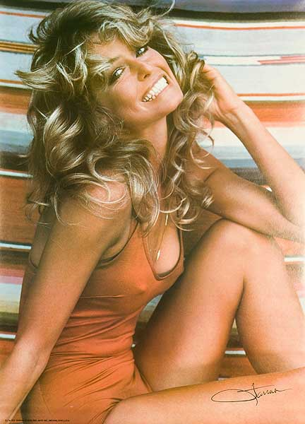 Farrah Fawcett Swimsuit Original Poster