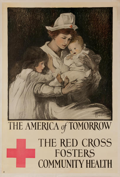 The America of Tomorrow, The Red Cross Fosters Community Health