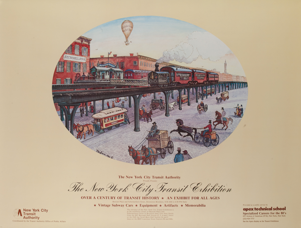 The New York City Transit Exhibition Poster