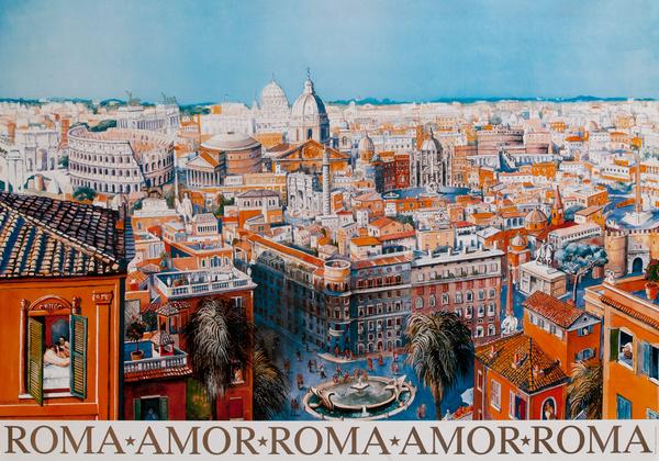 Roma Amor Roma Amor Roma Poster