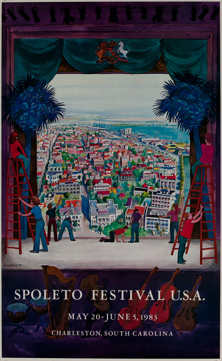 Spoleto Festival USA Charleston, South Carolina Poster