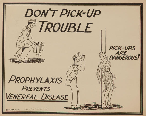 Don't Pick-Up Trouble, WWII V-D Poster