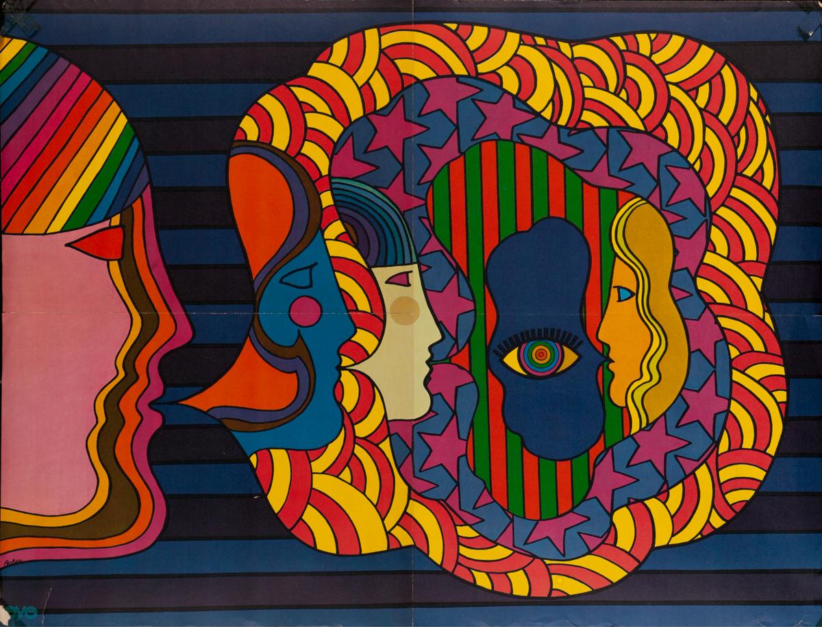 Eye Magazine Psychedelic Poster