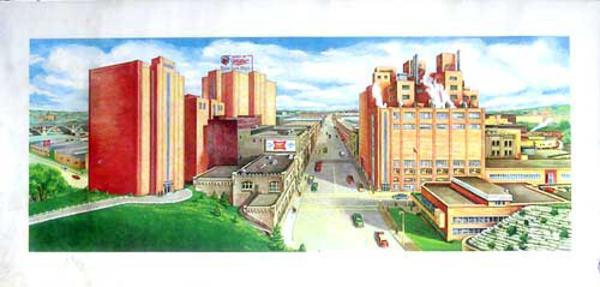 Miller Beer Factory, Original Promotional Poster