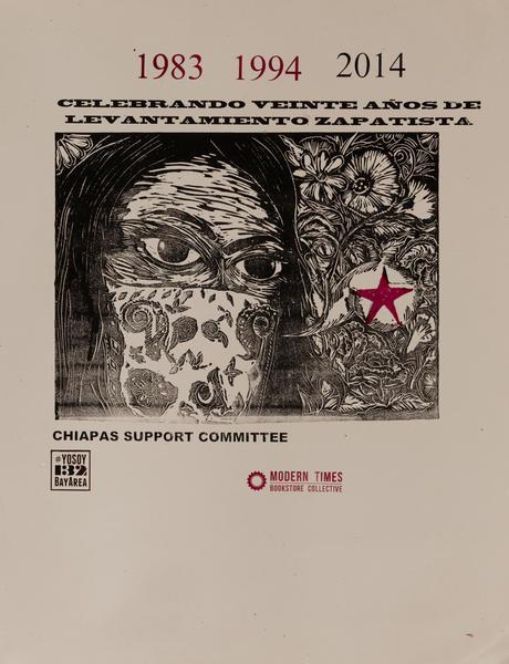 Modern Times Bookstore Collective, Celebrando Viente Años de Levantamento Zapatista