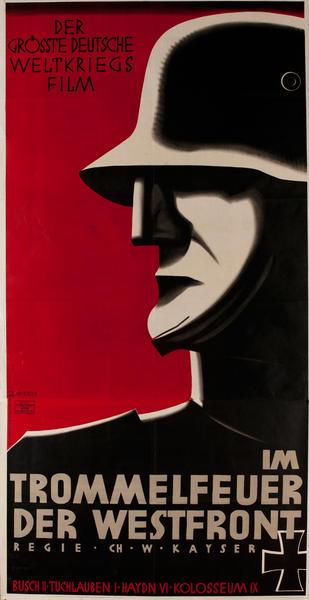Im Trommelfeuer Der Westfront, Drumfire of the Western Front,