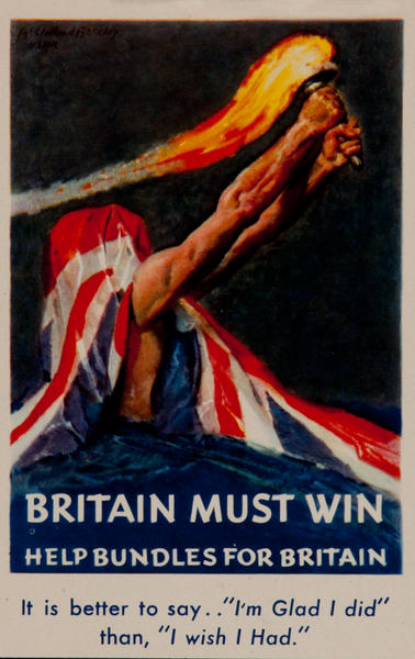 Britain Must Win, Help Bundles for Britain,