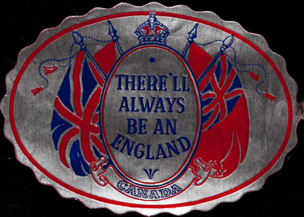 There'll always be an England,  Original WWII Label, Canada