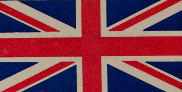 British Flag, WWII Label