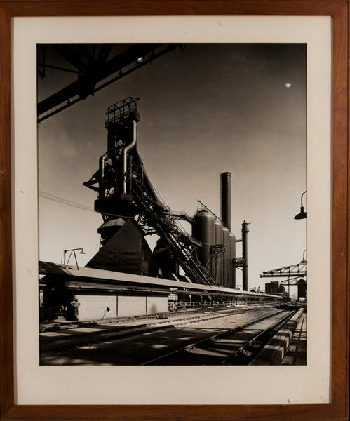 Sparrows Point MD, Blast Furnace Industrial Photo
