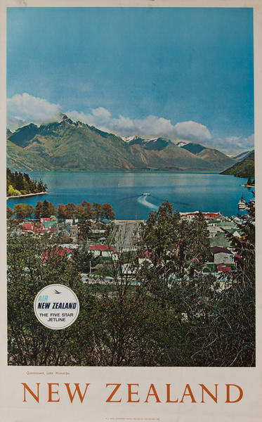 Air New Zealand, Queenstown, Lake Wakatipu