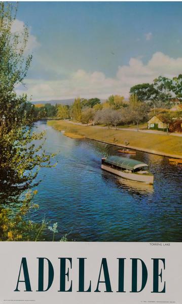 Torrens Lake, Adelaide Australia