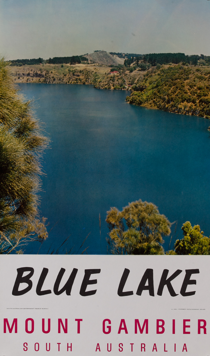 Blue Lake Mount Gambier South Australia