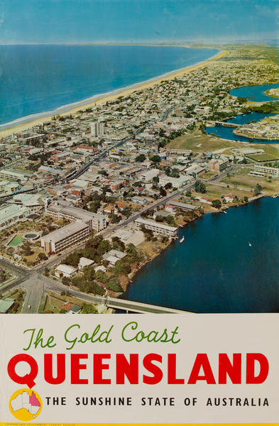 The Gold Coast Queensland, The Sunshine State of Australia, Aerial view
