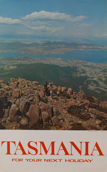 Tasmania for Your Next Holiday, Australia<br><br>Hobart from Mt. Wellington