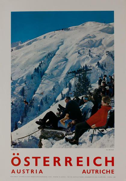 Österreich, Austria Apres Ski, Skigebiet Arlberg