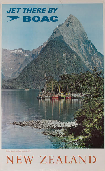 Jet There by BOAC<br>Milford Sound, Fiordland National Park