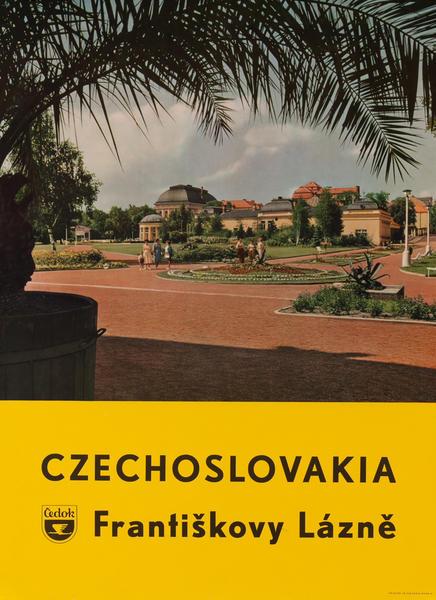Czechoslovakia, Františkovy Láznē  Ćedok