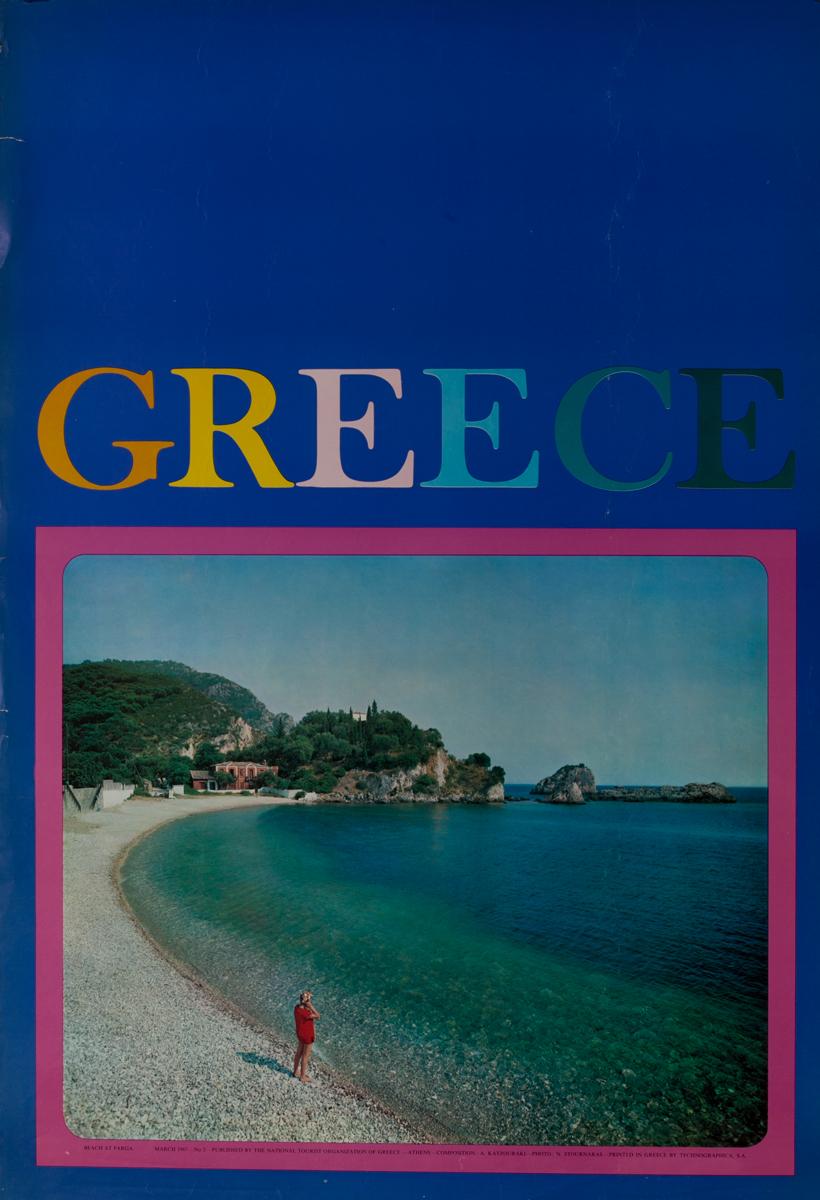 Beach at para, Greece