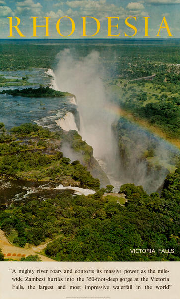Rhodesia Victoria Falls Photo