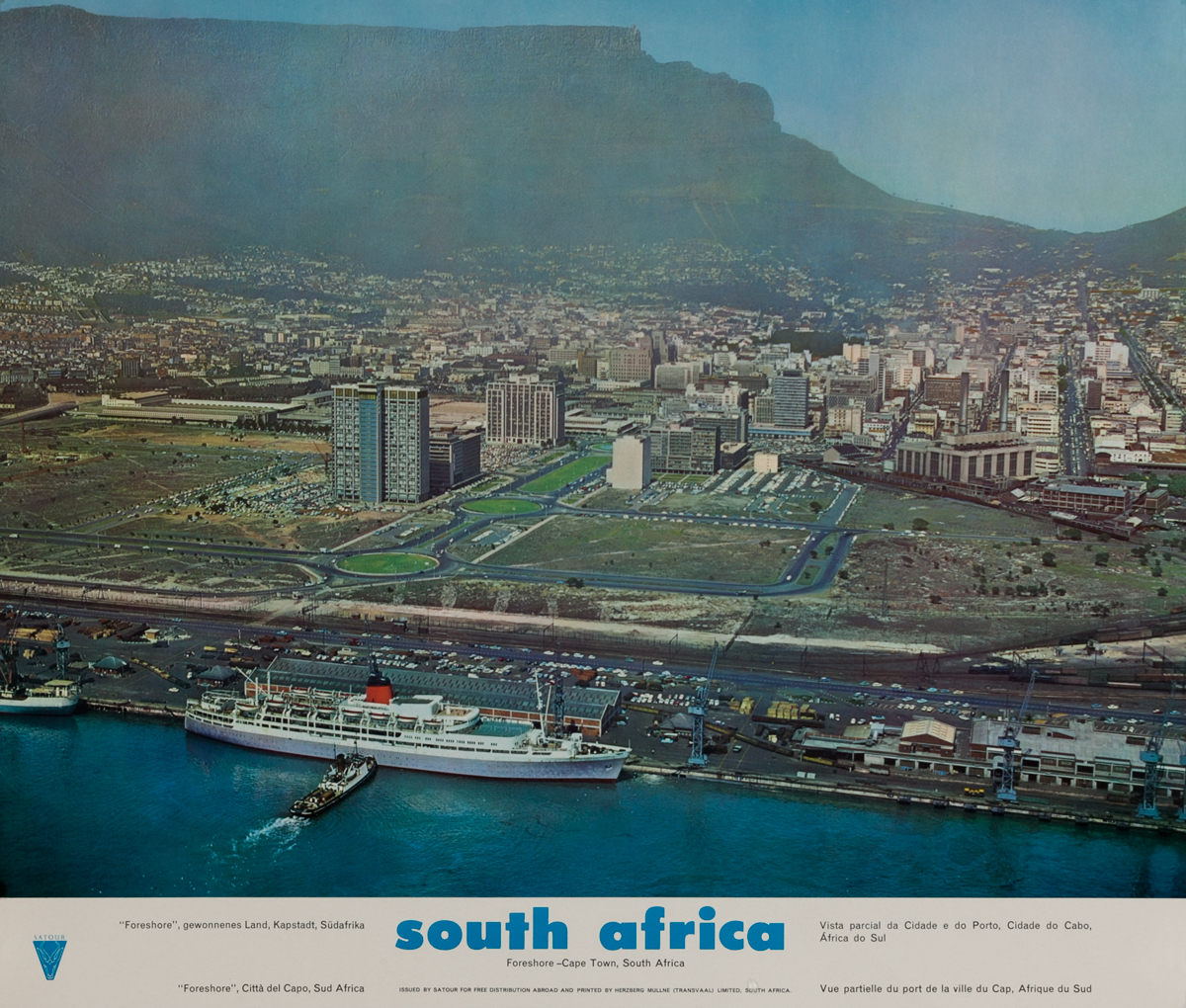South Africa, Foreshore - Cape Town